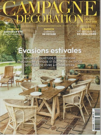 Campagne Decoration - bimestrale n. 112 Luglio 2018 - in lingua francese