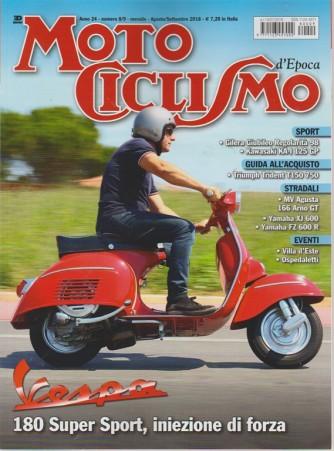 Motociclismo Epoca - n. 8/9 - mensile - agosto - settembre 2018 -
