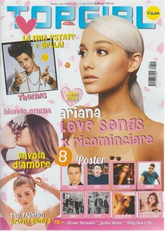 Topgirl - n. 221 - mensile - 15 luglio 2018