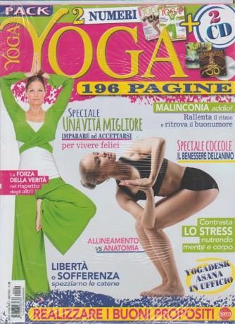 Vivere lo Yoga - bimestrale RIEDIZIONE Luglio 2018 - 2 uscite + 2 Cd