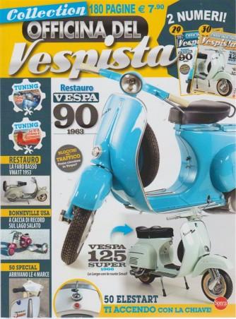 Officina Del Vespista - n. 4 - bimestrale - agosto - settembre 2018  - 180 pagine - 2 numeri!
