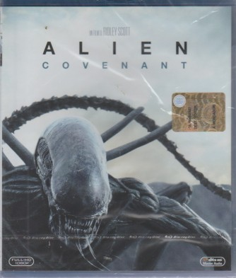 I Dvd Di Panorama2 - Blu Ray: Alien Covenant - n. 12 - settimanale