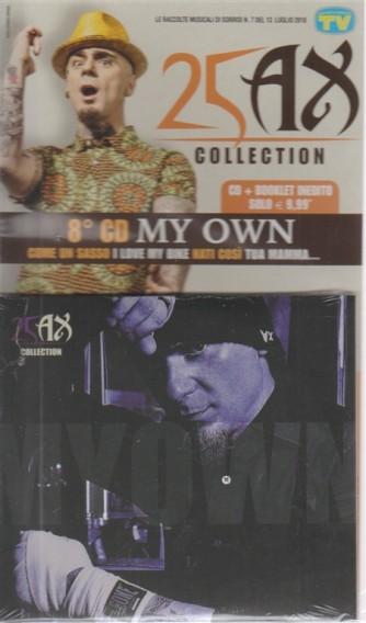 Grandi Raccolte Musicali di Sorrisi - n. 7 - del 13 luglio 2018 - 25 AX - 8° CD My own -