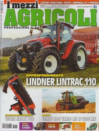 I Mezzi Agricoli - n. 45 - agosto - settembre 2018 - bimestrale