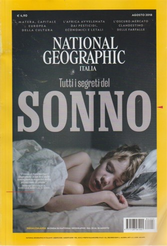 National geographic Italia - n. 2 - volume 42 - mensile del 1 agosto 2018 -