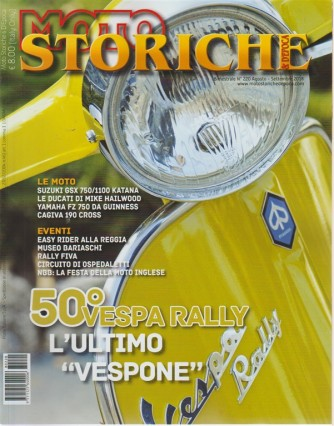 Moto Storiche E D'epoca - n. 220 - bimestrale - agosto - settembre 2018 -