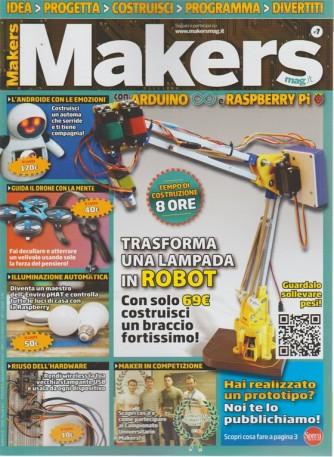 Makers Mag - n. 7 - bimestrale - agosto/settembre 2018