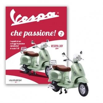 """""""Vespa che passione""""- Modellino n. 2  Vespa LXV del 2014 - scala 1:18"""
