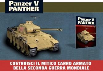 Costruisci Panzer V Panter - lotto 10 uscite a scelta - scala 1:16 - by Hachette