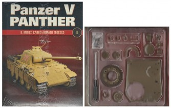Costruisci Panzer V Panter - 1° uscita - scala 1:16 - by Hachette