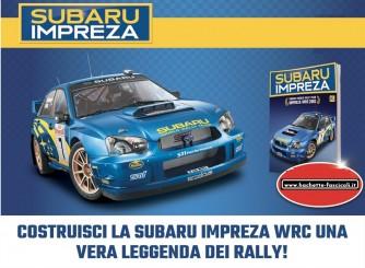 Costruisci Subaru Impreza WRC - lotto 10 uscite a scelta - scala 1:8 by Hachette