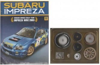 Costruisci Subaru Impreza WRC - 2° uscita - scala 1:8 by Hachette