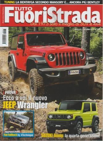 Tuttofuoristrada - n. 7 - mensile - settembre 2018