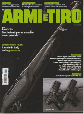 Armi e tiro - n. 9 - settembre 2018 - mensile