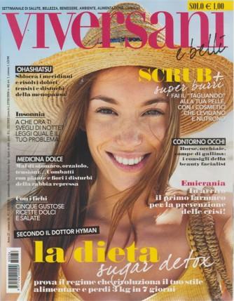 Viversani E Belli - n. 36 - settimanale - 31/8/2018