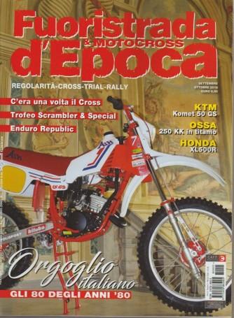 Fuoristrada & Motocross d'epoca - n. 5 - settembre - ottobre 2018 - bimestrale