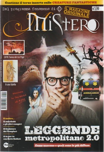 Rti Magazine - Mistero - n. 54 - settembre 2018 - mensile