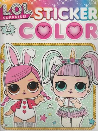 Sticker & Color - Lol Surprise - n. 22 - 8/9/2018 - bimestrale - settembre - ottobre 2018