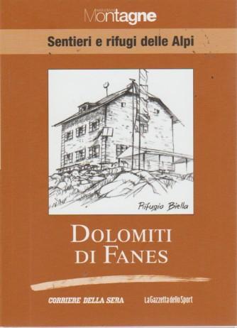 Sentieri E Rifugi - Dolomiti Di Fanes - Meridiani montagne - volume 15 - settimanale