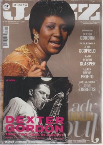 Musica Jazz - Dexter Gordon - n. 814 - settembre 2018 -