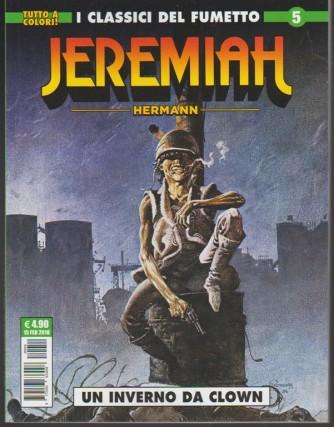 """Cosmo Serie Verde - Jeremiah n. 5 """"un inverno da clown"""" Editoriale Cosmo"""