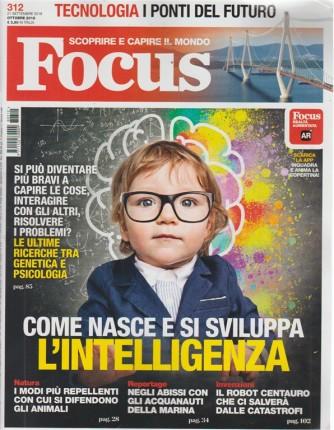 Focus - n. 312 - ottobre 2018 - mensile