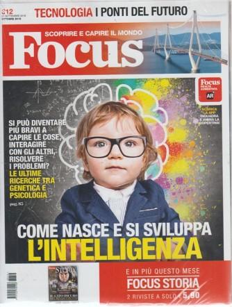 Focus + Focus storia - n. 312 - ottobre 2018 - mensile