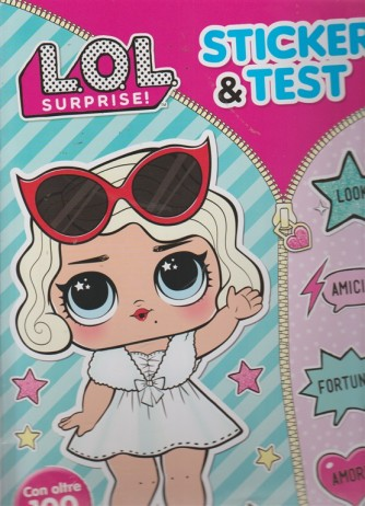 Superfanny - Lol surprise! n. 25 - bimestrale - ottobre - novembre 2018 - Sticker & test