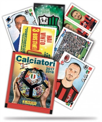 Calciatori Panini 2017-2018 - Proposta 5 bustine