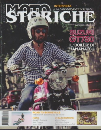 Moto Storiche E D'epoca - n. 221 - bimestrale - ottobre - novembre 2018 -