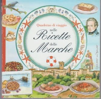 Quaderno di viaggio nelle ricette delle Marche - edizioni Del Baldo