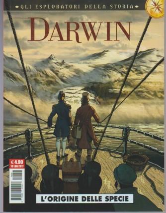 """Cosmo Serie Rossa - """"gli esploratori della storia"""" Darwin: L'origine della specie"""