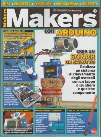 Makers Mag - bimestrale n. 1 Agosto 2017 - con Arduino crea un SONAR da salotto