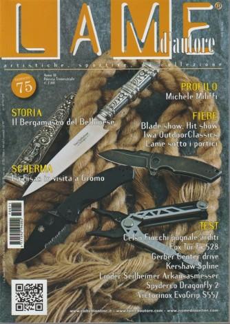 Lame d'autore - trimestrale n.75 Agosto 2017 Artistiche, Sportive, da collezione