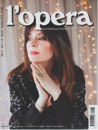 L'OPERA INTERNATIONAL MAGAZINE. N. 8. MENSILE SETTEMBRE 2016.