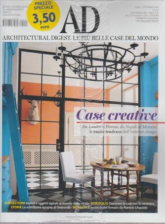 AD ARCHITECTURAL DIGEST. LE PIU' BELLE CASE DEL MONDO. N .424 OTTOBRE 2016