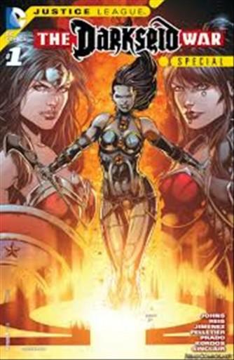 Justice League # 53 - DC Comics Lion