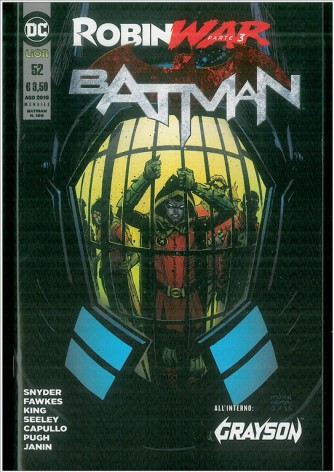 Batman # 52 (109) - DC Comics Lion