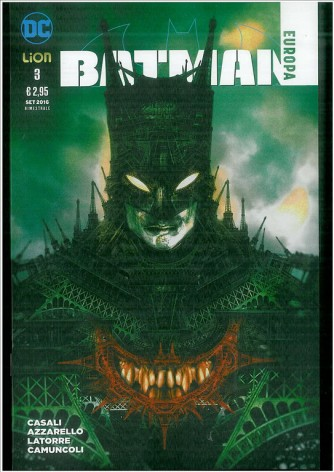DC Bad World #11 – Batman Europa 03 - DC Comics Lion