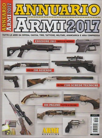 ANNUARIO ARMI 2017. ARMI MAGAZINE