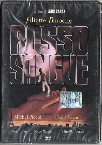 Rosso Sangue - Juliette Binoche, Julie Delpy, Denis Lavant, Leos Carax (DVD)