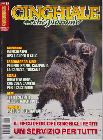 Cinghiale che passione - n. 1 - bimestrale - dicembre - gennaio 2019