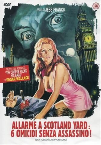 Allarme A Scotland Yard - 6 Omicidi Senza Assassino! - Horst Tappert, Fred Williams, Jesus Franco (DVD)