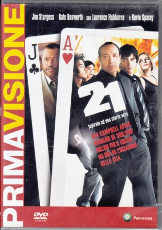 21 - Kevin Spacey, Laurence Fishburne, Kate Bosworth (DVD)