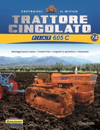 Costruisci il Trattore FIAT 605 C 2° ed. uscita 74