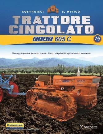 Costruisci il Trattore FIAT 605 C 2° ed. uscita 75
