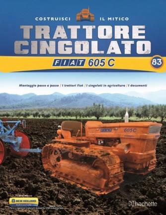 Costruisci il Trattore FIAT 605 C 2° ed. uscita 83