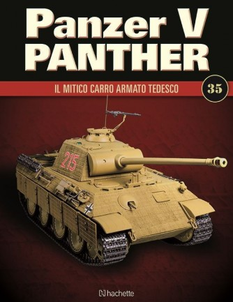 Costruisci il leggendario Panzer V Panther uscita 35