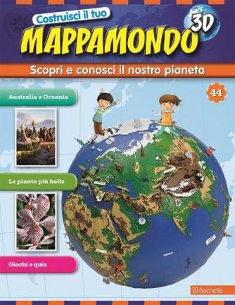 Costruisci il Mappamondo 3D 2^ edizione uscita 44