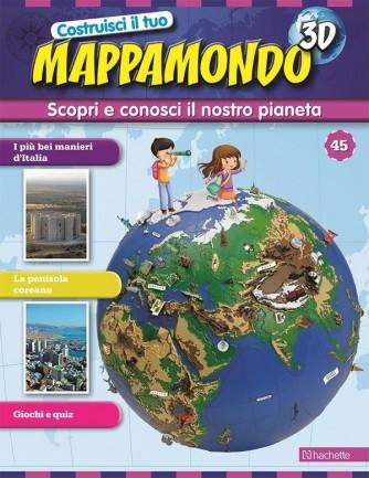 Costruisci il Mappamondo 3D 2^ edizione uscita 45